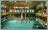 Sacramento California Indoor Swimming Bath Swimming Pool 1912 Vintage  E Mitchell Postcard (T-72) - Unclassified
