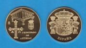ESPAÑA / SPAIN   MEDALLA  ORO / GOLD    SC/UNC  PROOF  ASTURIAS    DL-7136 - España