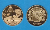 ESPAÑA / SPAIN   MEDALLA  ORO / GOLD    SC/UNC  PROOF  CANARIAS   DL-7138 - España
