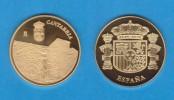 ESPAÑA / SPAIN   MEDALLA  ORO / GOLD    SC/UNC  PROOF  CANTABRIA   DL-7139 - España