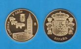 ESPAÑA / SPAIN   MEDALLA  ORO / GOLD    SC/UNC  PROOF  CASTILLA Y LEON    DL-7141 - España