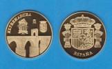 ESPAÑA / SPAIN   MEDALLA  ORO / GOLD    SC/UNC  PROOF  EXTREMADURA     DL-7144 - España