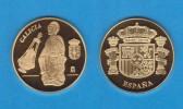 ESPAÑA / SPAIN   MEDALLA  ORO / GOLD    SC/UNC  PROOF  GALICIA     DL-7145 - España