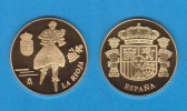ESPAÑA / SPAIN   MEDALLA  ORO / GOLD    SC/UNC  PROOF  LA RIOJA     DL-7146 - España