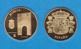 ESPAÑA / SPAIN   MEDALLA  ORO / GOLD    SC/UNC  PROOF  MURCIA     DL-7149 - España