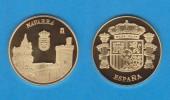 ESPAÑA / SPAIN   MEDALLA  ORO / GOLD    SC/UNC  PROOF  NAVARRA     DL-7150 - España