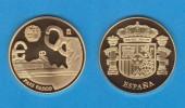 ESPAÑA / SPAIN   MEDALLA  ORO / GOLD    SC/UNC  PROOF  PAIS VASCO EUSKADI     DL-7151 - España