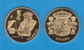 ESPAÑA / SPAIN   MEDALLA  ORO / GOLD    SC/UNC  PROOF  VALENCIA    DL-7152 - Spain