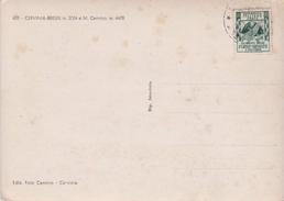 ITALIE  10L. Giornata Delle FORZE ARMATE  S/ CPSM 10X15 CERVINIA BREUIL  E M. Servinio - 6. 1946-.. Republic