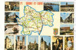 14915 Saone Et Loire, (d'apres Michelin 989) CIM ODP999.000.0171