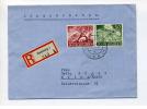 1943 3. Reich  R - Brief Wehrmacht  I Frankatur 836,840 SSt Dt. Ital. Kulturtage - Deutschland