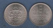 LOT DE 5 JETONS OU MONNAIES PAYS BAS - 1975 - MOKUM 700 FLORIJN / INSIGNIA AMSTELREDAMI / 1275 1975 - Nederland
