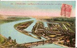 1931 - CPA - 67 STRASBOURG - Les Ponts Du Rhin Et Le Port De Kehl Vus Par Avion - Strasbourg