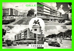 LUSAKA, ZAMBIE - 4 MULTIVUES - ANIMÉE VIEILLES VOITURES - ART PUB. - - Zambie