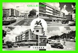 LUSAKA, ZAMBIE - 5 MULTIVUES - ANIMÉE VIEILLES VOITURES - ART PUBLISHERS LTD - ARTCO - - Zambie