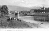 38Z92-GRE-234- GRENOBLE - Lot 3 Cp: La Crypte De Saint-Laurent, Jardin Des Dauphins, Pont De L'Esplanade - Grenoble
