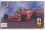 Télécarte USA * FERRARI (245) Phonecard * Telefonkarte * MARLBORO * SHELL - Auto's