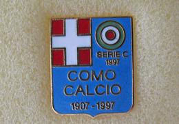 Como Calcio Serie C 1997 Distintivi FootBall Soccer Spilla Lombarda Pins - Calcio