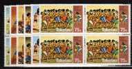 Tokelau Islands N° 97 / 102 ** Blocs De 4 - Tokelau