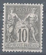 SZ--318. N° 89,   Obl.   , Cote 4.00 €, A Saisir , Je Liquide - 1876-1898 Sage (Type II)