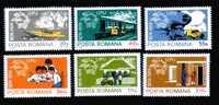 Romania  Yvert 2838/2843 Mint **.. - Bussen