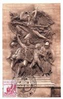 Algérie Journées Colonna D'Ornano  Alger Marianne Gandon 5F 1956 Arc De Triomphe - Covers & Documents