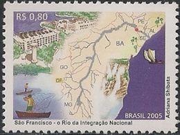 BRAZIL - SÃO FRANCISCO RIVER 2005 - MNH - Water