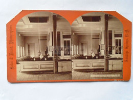 US -Geyser Spring - Saratoga  N.Y.  -stereoview  Cca 1870-80's VF  D53266 - Photos Stéréoscopiques