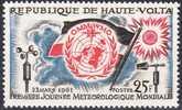 Republique De Haute-Volta 1961 25 FR Premiere Journee Meteologique Mondiale MNH  Yvert 93 See Scan !! - Opper-Volta (1958-1984)