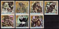 GUINEE EQUATORIALE   N° 90 PA 74   * *  Ours Panda Loups Tigre Felins Singes - Bears