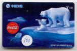 Télécarte * COCA COLA (153) PHONECARD * TELFONKARTE * COKE * ICE-BEAR * BEAR - Pubblicitari