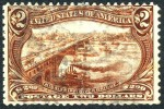 US #293 Used $2 Trans-Mississippi Of 1898 - Used Stamps