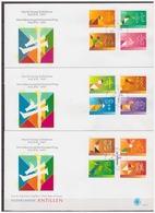 Antillen / Antilles 1997 FDC 284abc Pacific'97 Chinese Zodiak - Chinees Nieuwjaar