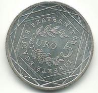 - 5 EUROS ARGENT 2008 - France