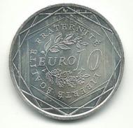 - 10 EUROS ARGENT 2009 - France