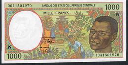WAS GUINEE EQUATORIALE  P502Ng   1000  FRANCS   2000    UNC.. - Guinée Equatoriale