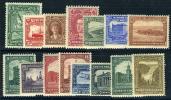 Newfoundland #145-59 Mint Lightly Hinged Set From 1928 - Newfoundland