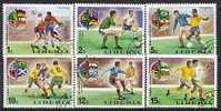 Liberia 675+   (o)  SOCCER CUP  FIFA - Liberia