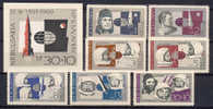 Bulgaria 1966 Space Set Of 7 + S/s MNH - Space