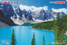 Carte Japon - Paysage Lac & Montagne - HANFF PARK Lake & Mountain Japan Card Canada Related - 26 - Landschappen