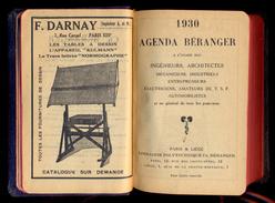 Agenda Beranger - 1930. - Calendars