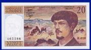 BILLET BANQUE DE FRANCE 20 FRANCS DEBUSSY NEUF PAS DE TROU 100%  H.016 N° 465596 ANNEE 1986 - 2 SCANS - 20 F 1980-1997 ''Debussy''
