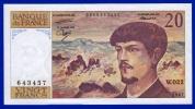 BILLET BANQUE DE FRANCE 20 FRANCS DEBUSSY NEUF PAS DE TROU INFIMES TRACES DE COMPTAGE W.022 N° 643457 ANNEE 1987 SCANS - 1962-1997 ''Francs''