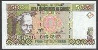 GUINEA (République De Guinée )  : 500 Francs -  1998 - P36 - FDS - Guinea