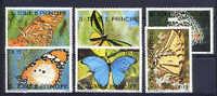 SAINT-THOMAS ET PRINCE SAO TOME E PRINCIPE 1990, PAPILLONS, 6 Valeurs, NEUFS / Mint. R476 - Schmetterlinge