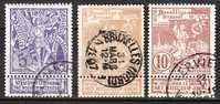 71/73  Gestempeld  Cote 5,50 Euro - 1894-1896 Expositions