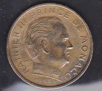 MONACO - Rainier III 10 Centimes 1962 - Bronze Alu - Monaco