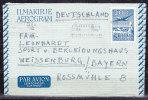 Aerogramme Luftpostfaltbrief LF 1, Helsinki Nach Weissenburg (42967) - Entiers Postaux
