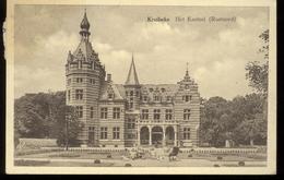 KRUIBEKE  HET KASTEEL RUSTOORD - KAART NAAR BRUSSEL - UITG. A. DE SCHRIJVER DE WREEDE - - Kruibeke