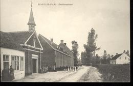 SINT GILLIS WAAS - EECKBERGSTRAAT - KAPEL  - UITG. P. DARDENNE - PHOTO FL. DE RYCKE EECLOO - Sint-Gillis-Waas